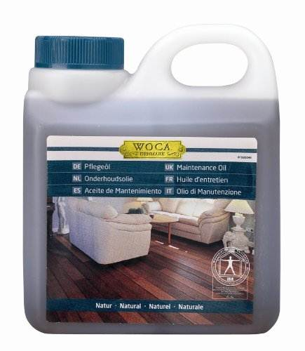 WOCA oils and maintenance products