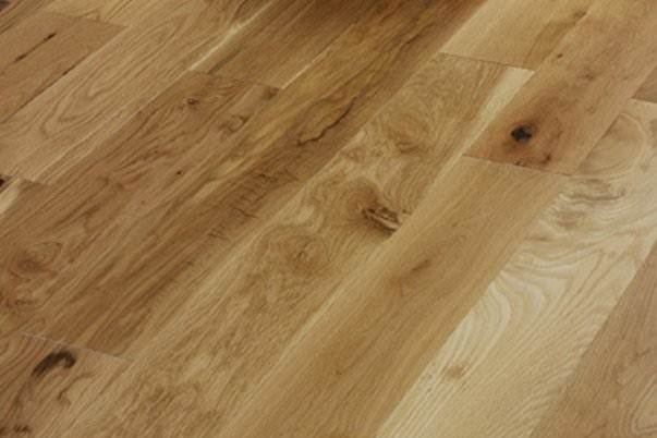 Traditional Solid Oak flooring 120mm