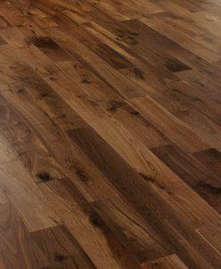 Black American engineered walnut flooring