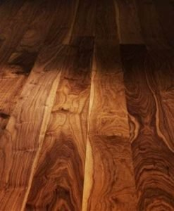Black American Super engineered Walnut floor London Stock 150mm