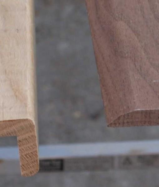 Solid Oak Stair Nosing Wood4floors