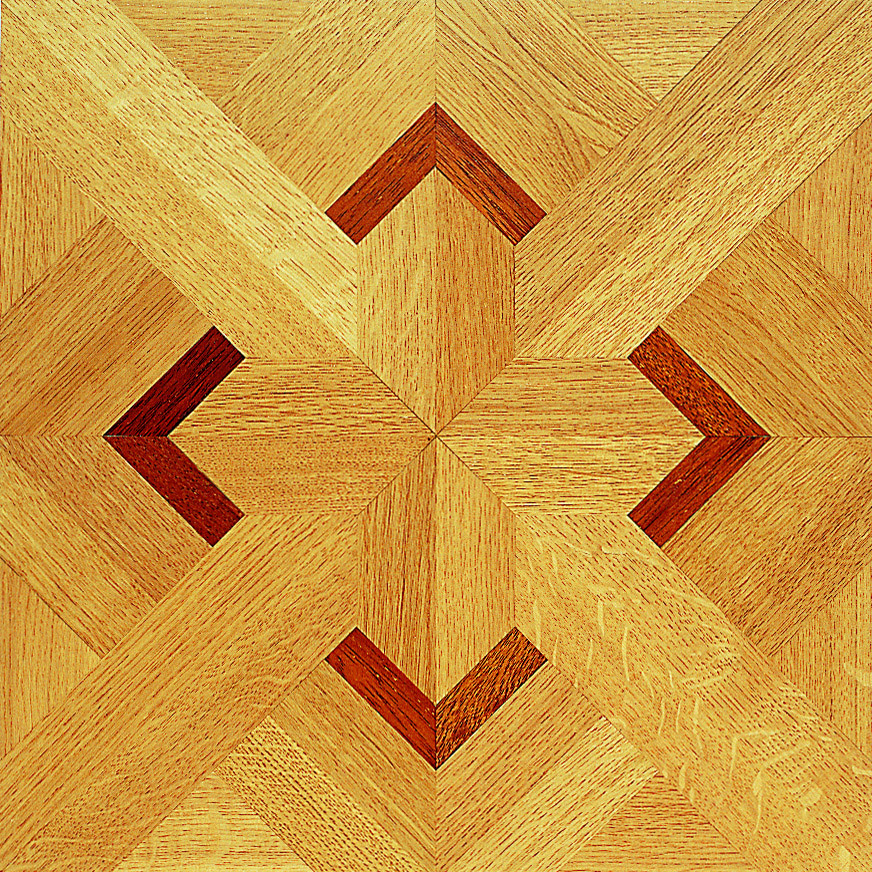 Make a kingly statement with a panel wood floor wood4floors for Hardwood floor panels