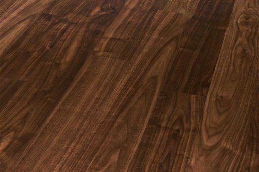 Black American Walnut engineered wood flooring London Stock 190mm