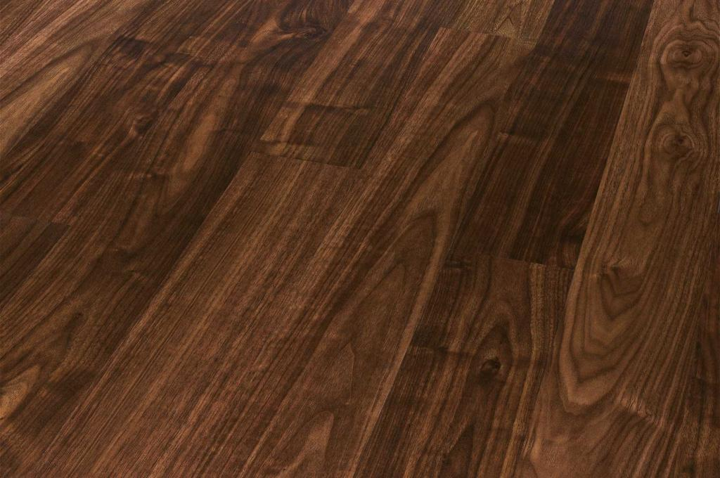 Black american walnut super engineered wood flooring for Walnut flooring