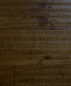 Sculptured and Fume Stained Oak Super engineered parquet floor London stock 150mm
