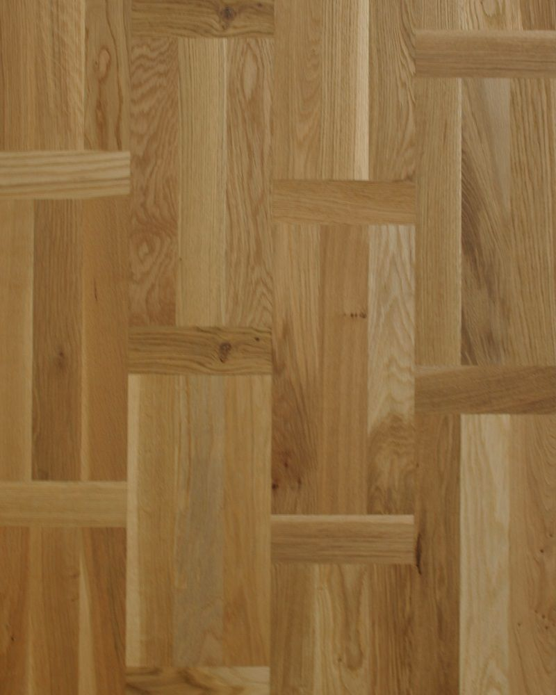 Flemish Pattern Oak Multi Strip Engineered Click Flooring