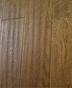 Sculptured and Fume Stained Oak Super engineered parquet floor