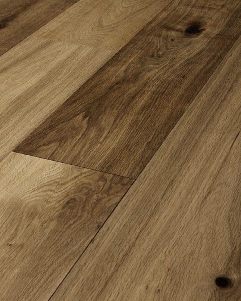 Smoked Oak Engineered Floor Brushed And Oiled Wood