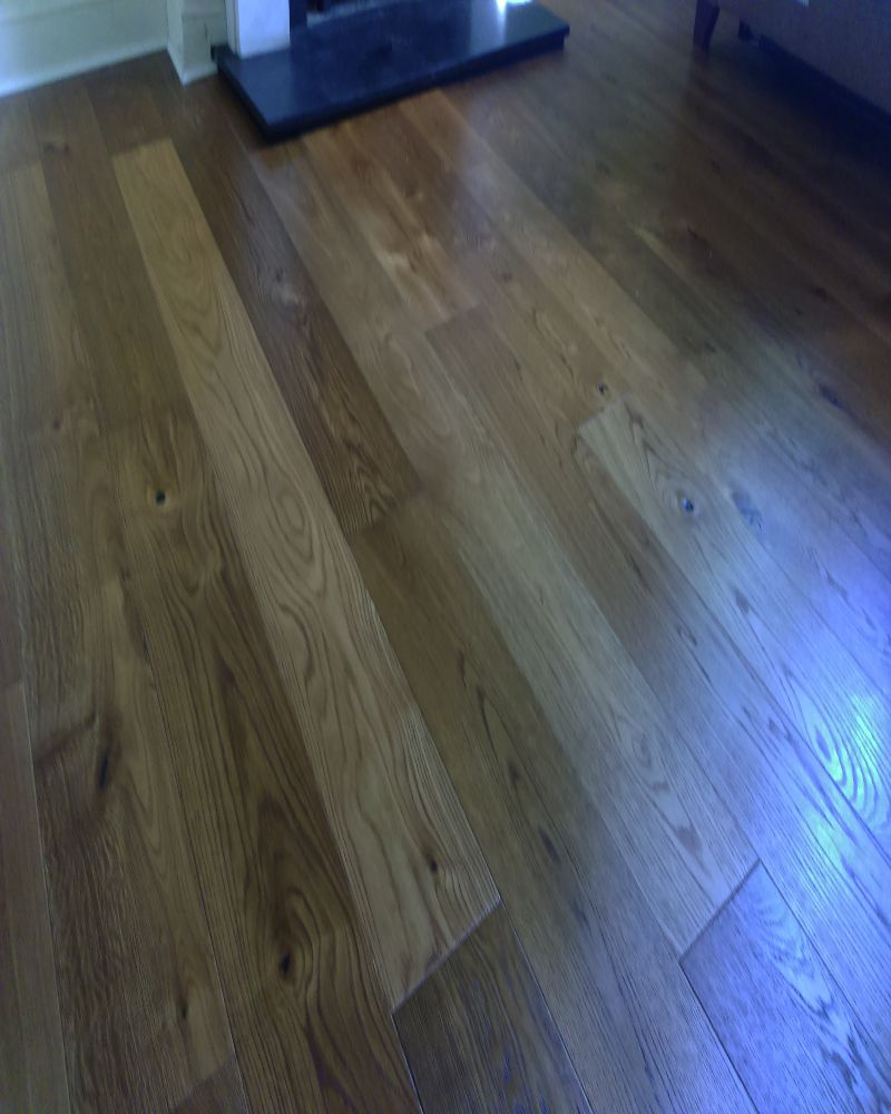 Extra rustic smoked engineered real wood floor click sytem for Real wood flooring
