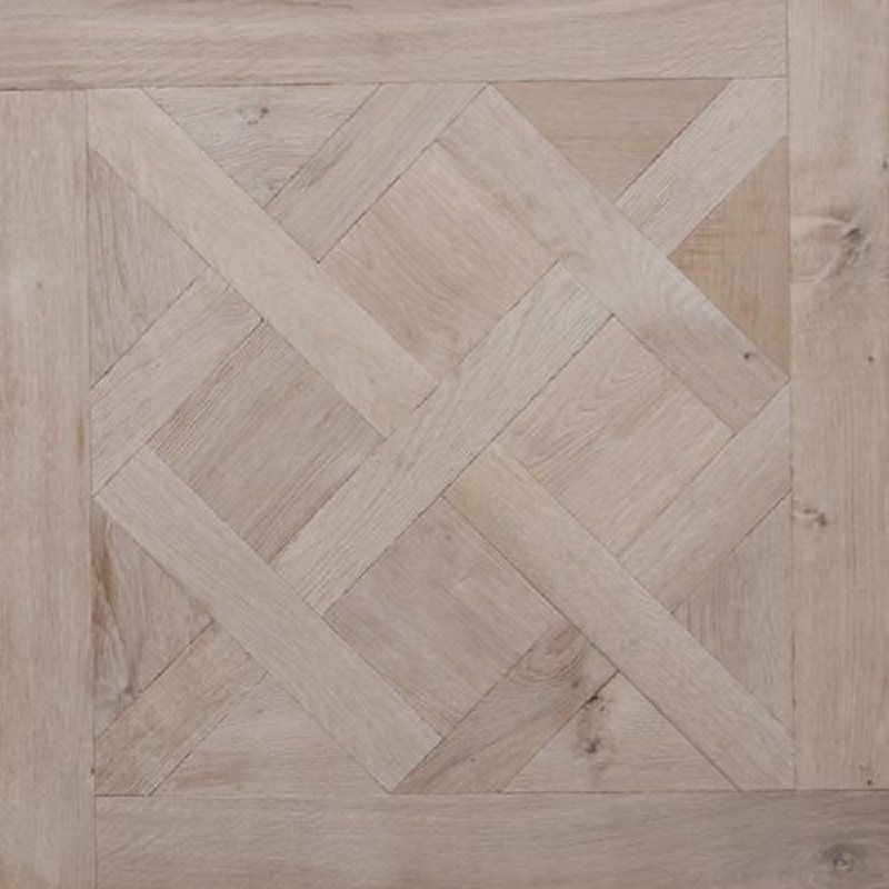 Large Traditional Oak Parquet Versailles Panel Brushed