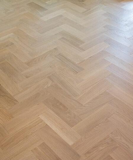 solid oak herringbone wood blocks london