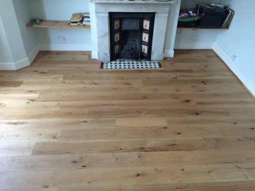 Wide Plank Oak engineered flooring 190mm