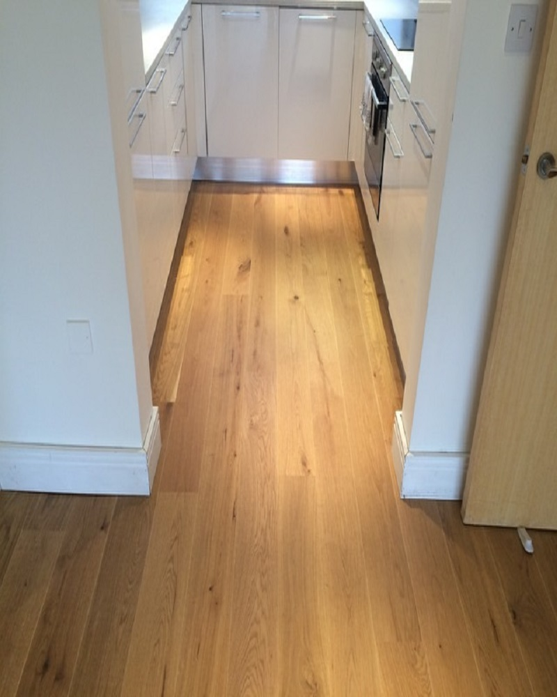 ... flooring Brushed and Oiled 180mm – patented click system – London