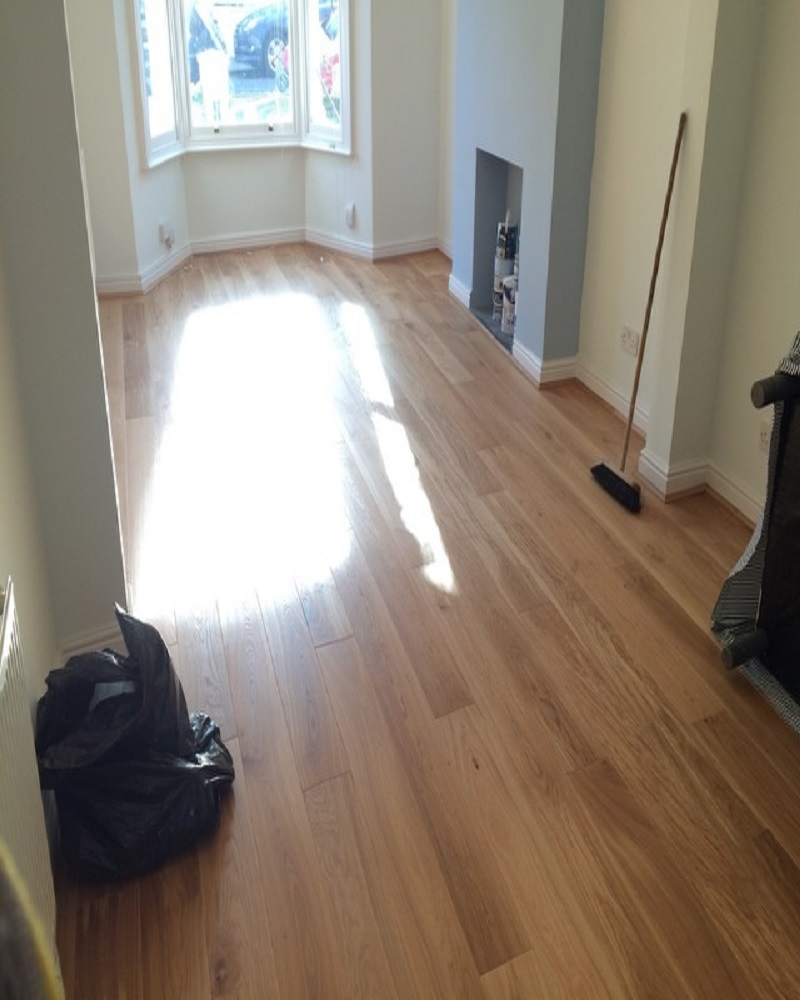 Wide Plank Hardwood: Wide Plank Oak Engineered Flooring 190mm