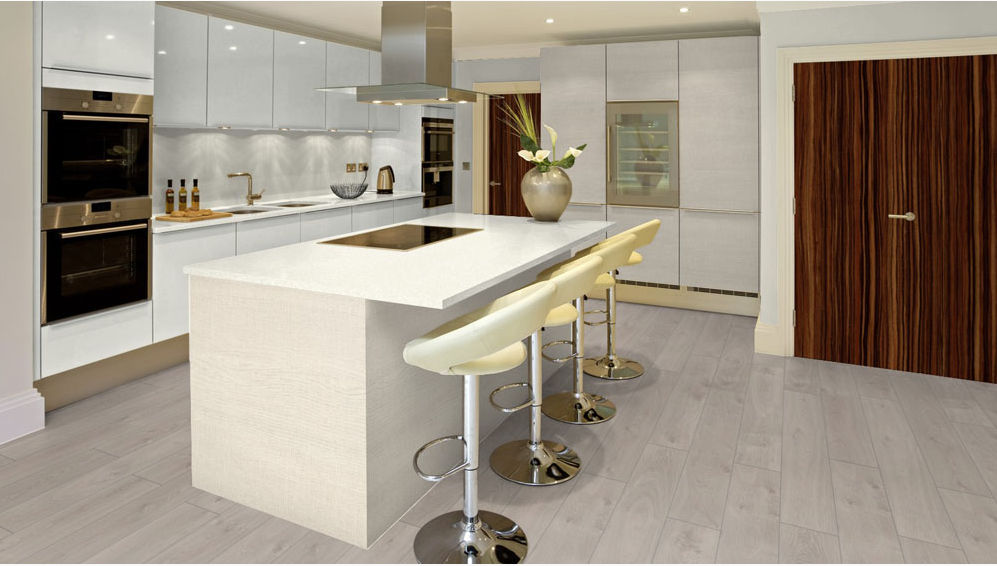 Greychapel robust oak laminate floor london stock 193mm for Laminate flooring london