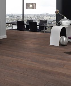 Black American Walnut Laminate Floor – London Stock – 193mm