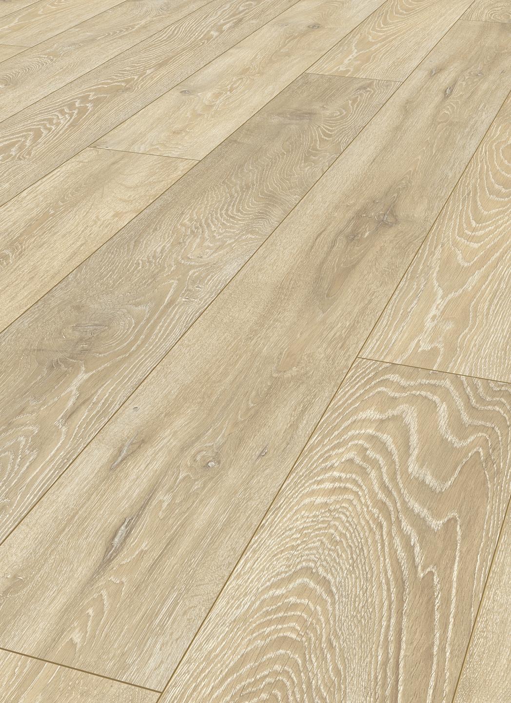 Laminate long boards oak pastel beige for london for Laminate flooring london