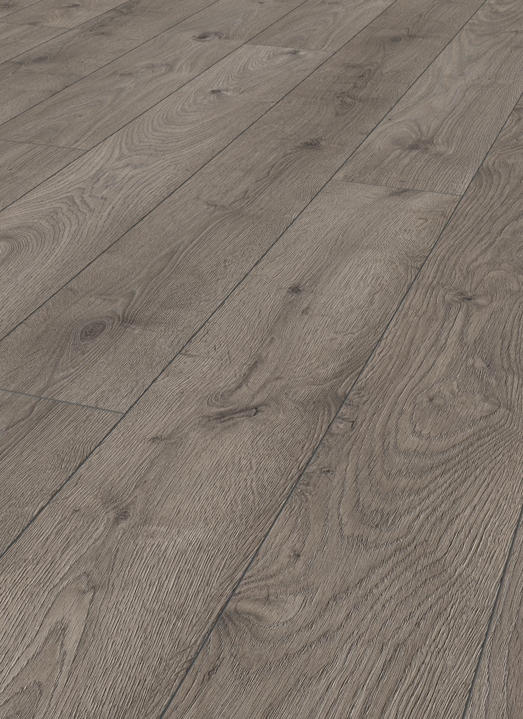 Laminate long boards oak graphite grey london for Laminate flooring london