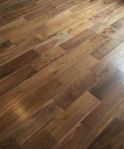 Black American Walnut Wood Super Engineered Flooring | Wood4Floors