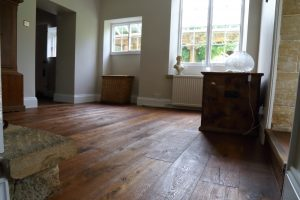 Distressed Aged Oak Flooring