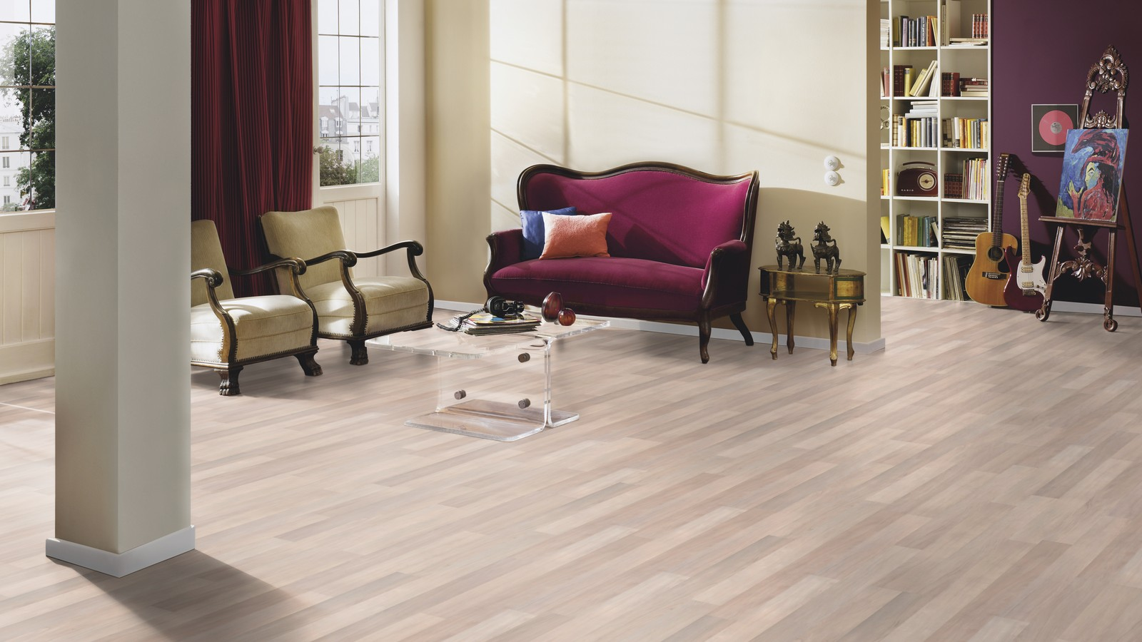 Avatara Yew Grey Beige Man Made Wood Floor Wood4floors