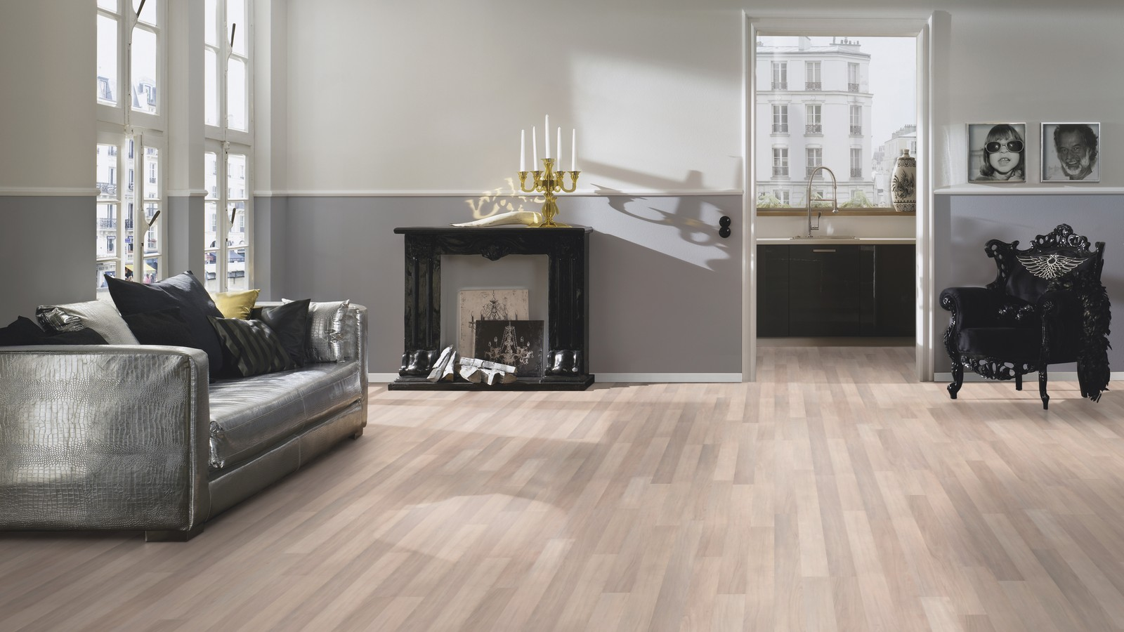 Avatara Yew Grey Beige Man Made Wood Floor Wood4floors