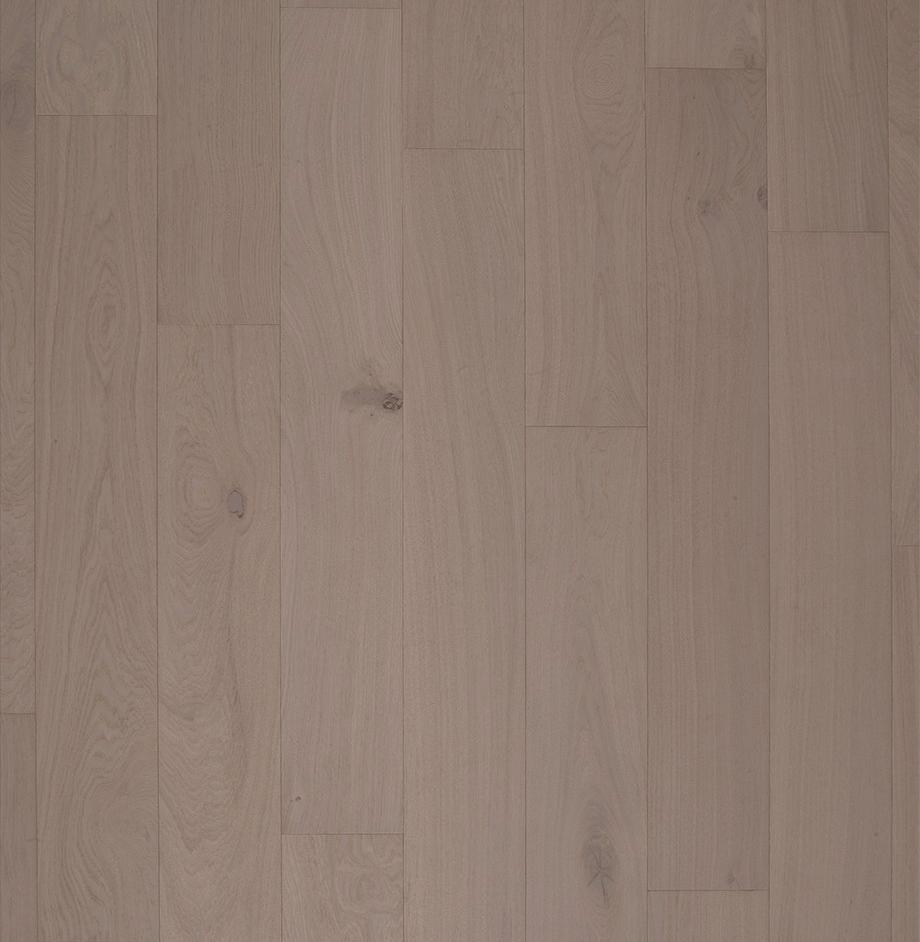 Real wood veneer grey oak flooring