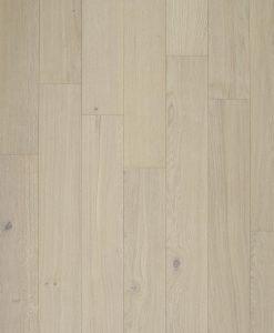 Real wood veneer white flooring