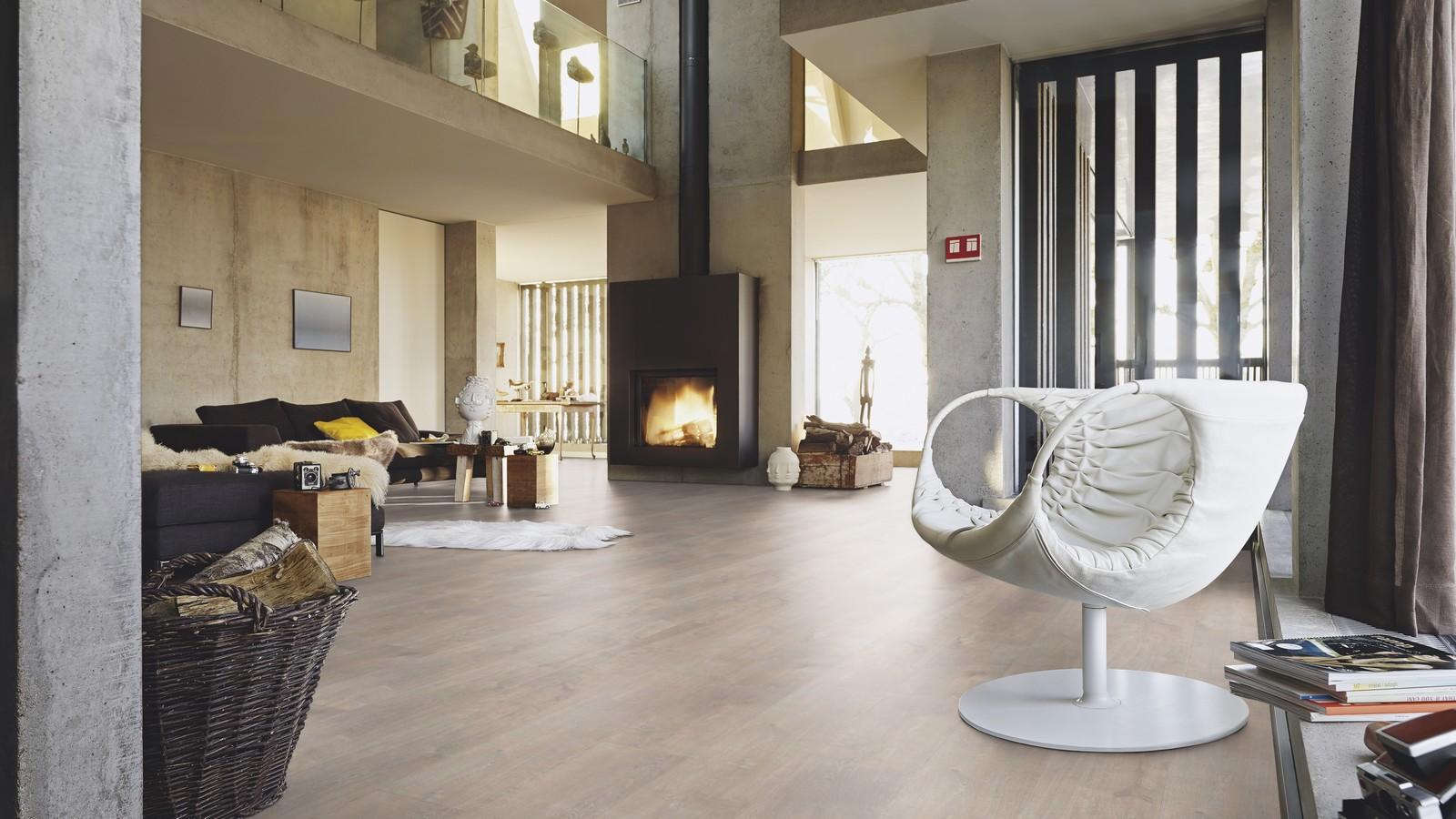 Griege Oak Catega Click System Design Flooring Wood4floors