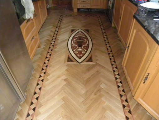 P700 SELECT soild oak herringbone