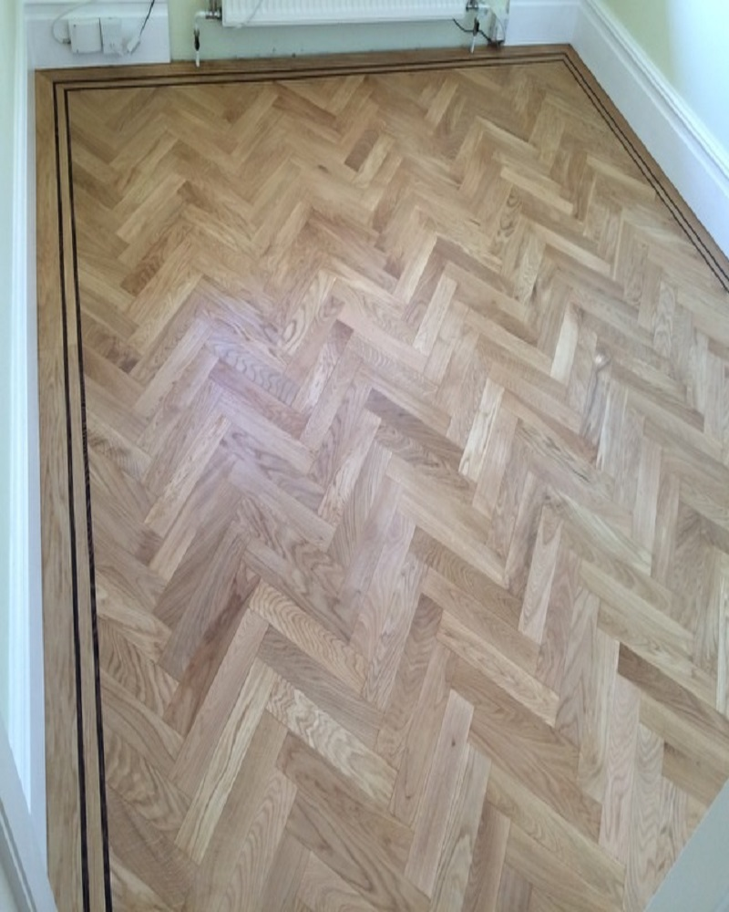 london solid oak 5. Solid Oak Herringbone Wood Blocks \u2013 London 5