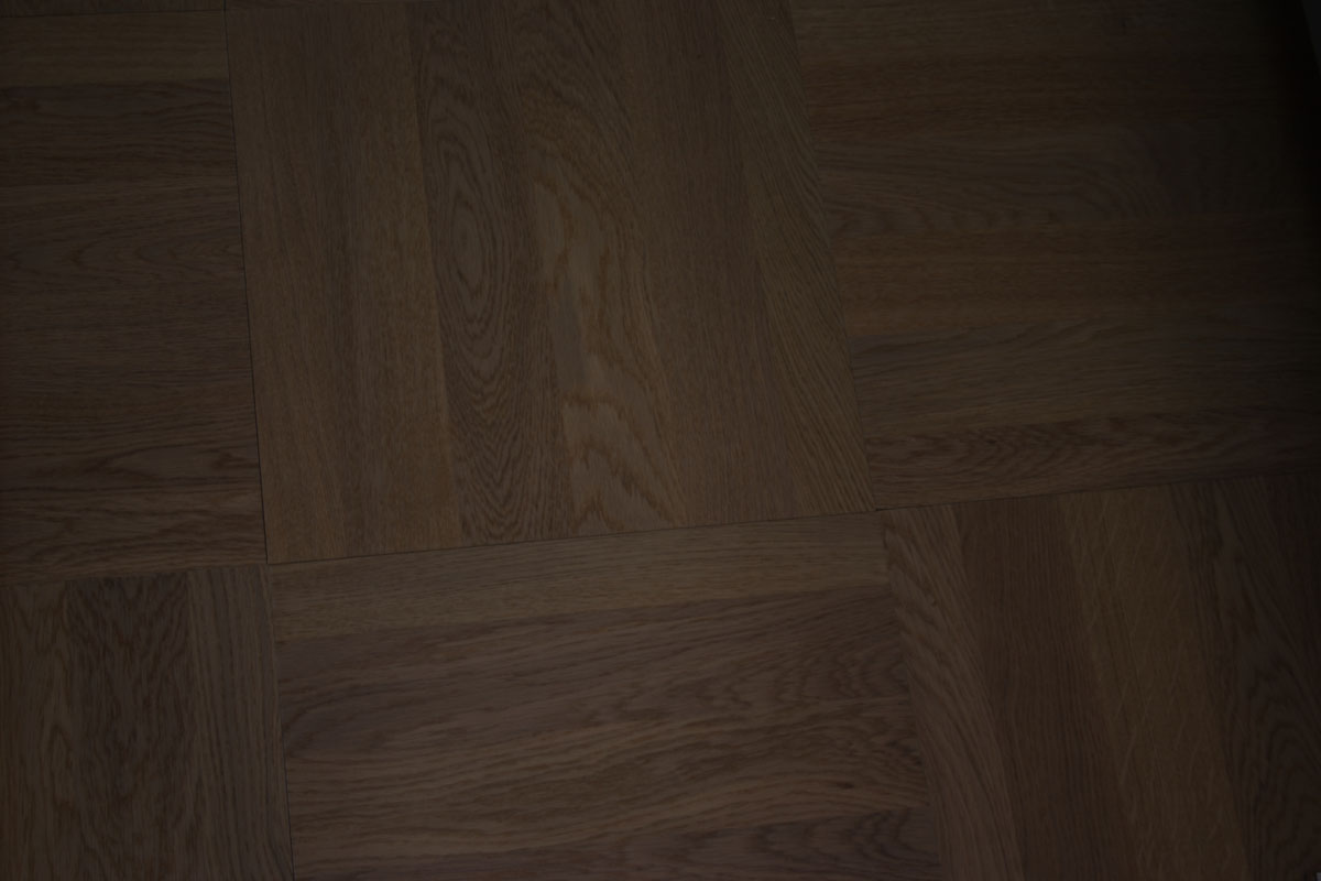 Basketweave Battersea Wharf Engineered Oak Panels Antique