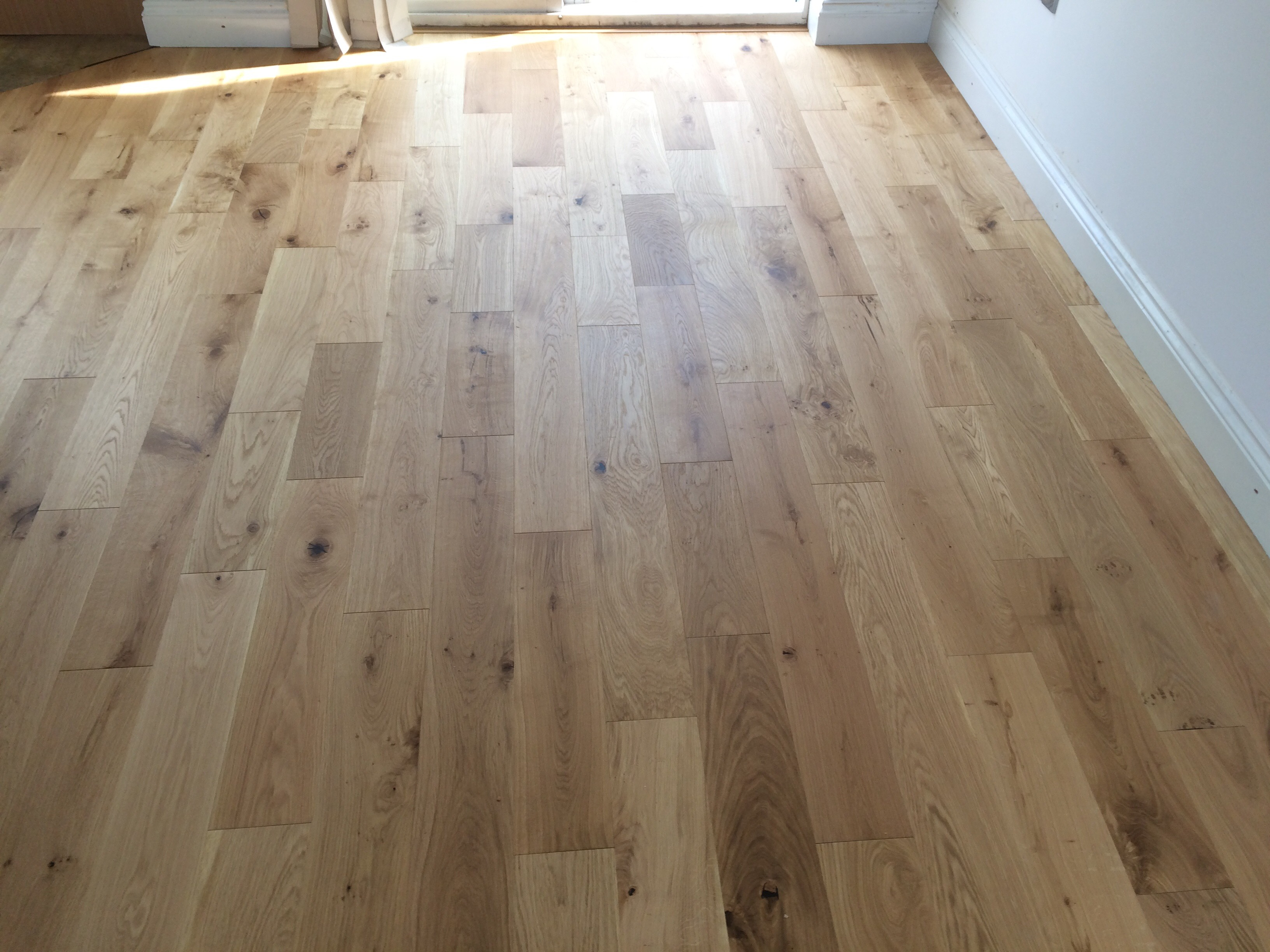 Builders choice oiled engineered wood flooring london