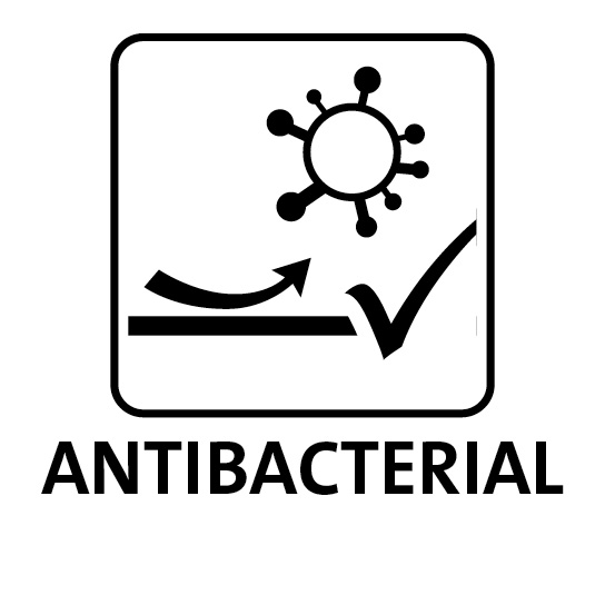 antibacterial finish