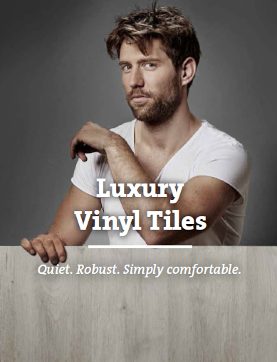 luxury vinyl tiles engineered in Germany
