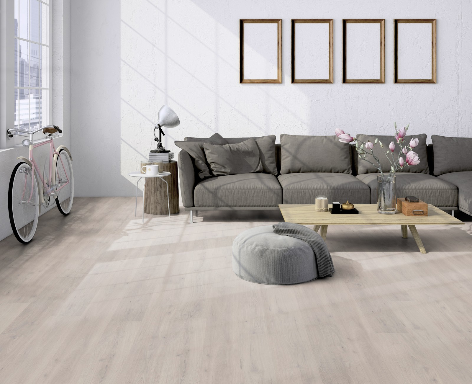 Oak Helsinki White German Fully Engineered Luxury Vinyl