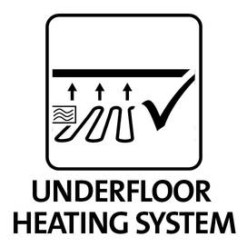 suitable for underfloor heating