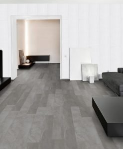 MEDINA GREY STONE LUXURY VINYL TILES THROUGH LOUNGE WOOD4FLOORS
