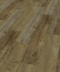 LVF1000 Luxury Vinyl Plank Oak Cambridge dark brown Wood4Floors