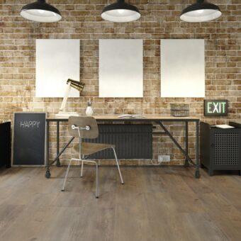 LVF1050 Luxury Vinyl Plank Oak Nairobi Brown Wood4Floors
