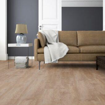 LVF1100 Luxury Vinyl Plank Oak Caracas Brown Wood4Floors