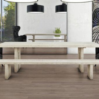 LVF1150 Luxury Vinyl Plank Oak Canberra Grey Brown Wood4Floors