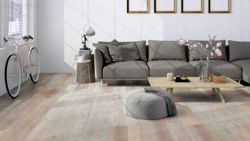 LVF500 Luxury Vinyl Plank Pine Valencia Beige Brown Wood4Floors
