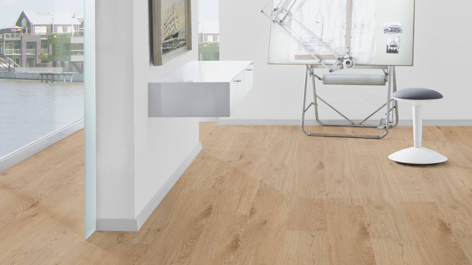 Oak dublin brown german fully engineered luxury vinyl for Hardwood floors dublin