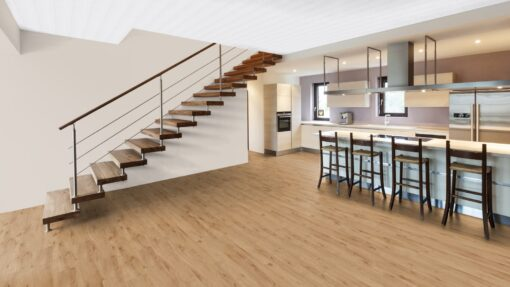 LVF650 Luxury Vinyl Plank Oak York Brown Wood4Floors