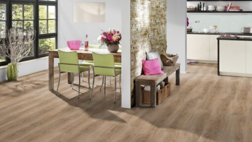 LVF700 Luxury Vinyl Plank Oak Malaga Beige Brown Wood4Floors