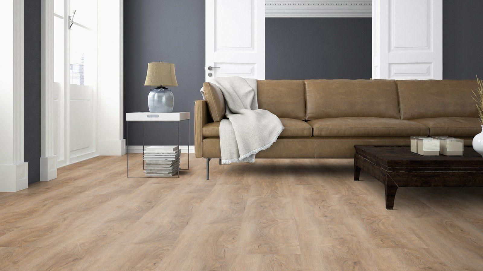 LVF700 Luxury Vinyl Plank Oak Malaga Beige Brown Wood4Floors