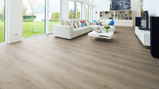 LVF850 Luxury Vinyl Plank Oak Minsk Grey Beige Wood4Floors