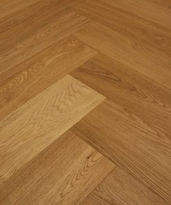 Engineered oak Herringbone wood blocks