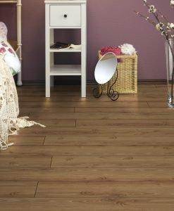 L6300 - Brown Leaf Villeroy & Boch London Premium Laminate Flooring - Wood4Floors